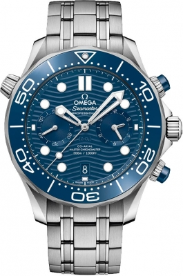 Omega Seamaster Diver 300m Co-Axial Master Chronometer Chronograph 44mm 210.30.44.51.03.001