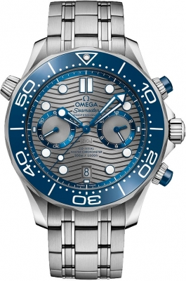 Omega Seamaster Diver 300m Co-Axial Master Chronometer Chronograph 44mm 210.30.44.51.06.001