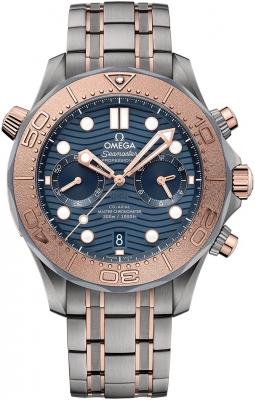 Omega Seamaster Diver 300m Co-Axial Master Chronometer Chronograph 44mm 210.60.44.51.03.001