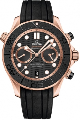 Omega Seamaster Diver 300m Co-Axial Master Chronometer Chronograph 44mm 210.62.44.51.01.001
