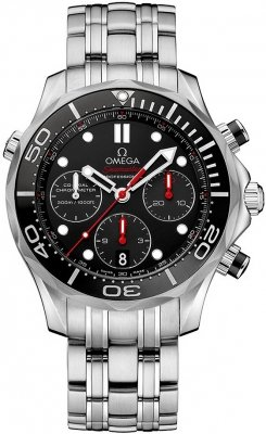 Omega Seamaster 300m Diver Co-Axial Chronograph 42mm 212.30.42.50.01.001