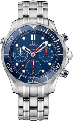 Omega Seamaster 300m Diver Co-Axial Chronograph 42mm 212.30.42.50.03.001