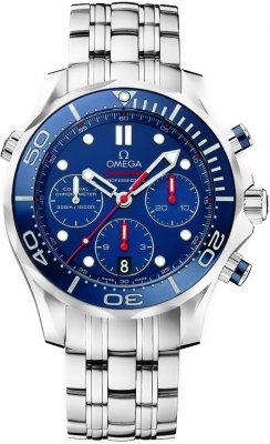 Omega Seamaster 300m Diver Co-Axial Chronograph 44mm 212.30.44.50.03.001