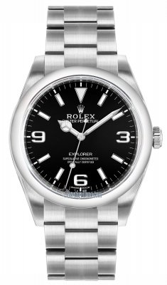 Rolex Explorer 39mm 214270 Black Luminous