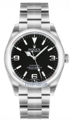 Rolex Explorer 39mm 214270 Black