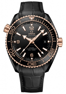 Omega Planet Ocean 600m Co-Axial Master Chronometer GMT 45.5mm 215.63.46.22.01.001