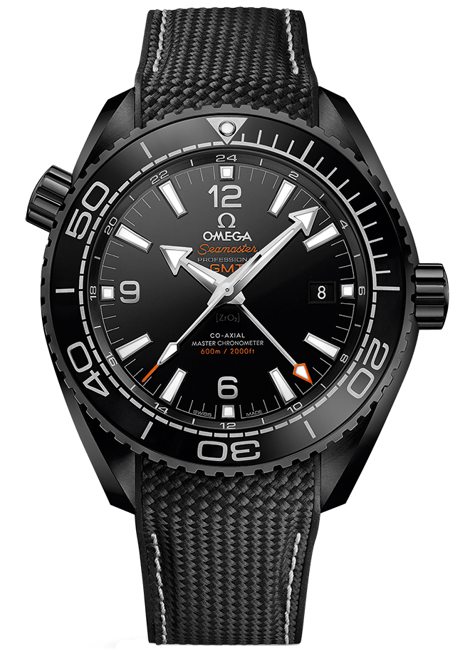 1bc741d34088 Availability. Omega Planet Ocean 600m Co-Axial Master Chronometer GMT ...