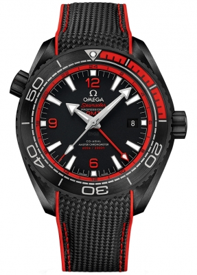 Omega Planet Ocean 600m Co-Axial Master Chronometer GMT 45.5mm 215.92.46.22.01.003
