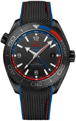 Omega Planet Ocean 600m Co-Axial Master Chronometer GMT 45.5mm 215.92.46.22.01.004