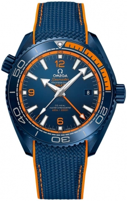Omega Planet Ocean 600m Co-Axial Master Chronometer GMT 45.5mm 215.92.46.22.03.001