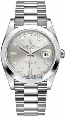 228206 Silver Baguette