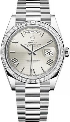 228396TBR Silver Quadrant Roman
