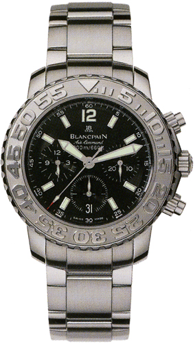 2285f 1130 71 Blancpain Specialties Air Command Flyback Chronograph Mens Watch