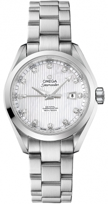 Omega Aqua Terra Ladies Automatic 34mm 231.10.34.20.55.001