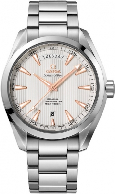 Omega Aqua Terra 150m Co-Axial Day Date 231.10.42.22.02.001