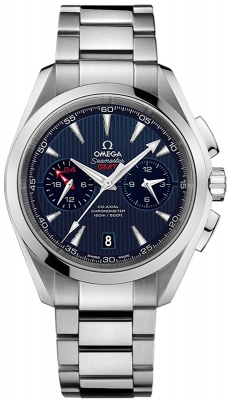 Omega Aqua Terra 150m Co-Axial GMT Chronograph 43mm 231.10.43.52.03.001