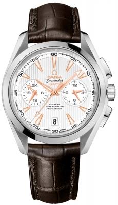 Omega Aqua Terra 150m Co-Axial GMT Chronograph 43mm 231.13.43.52.02.001