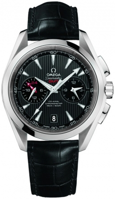 Omega Aqua Terra 150m Co-Axial GMT Chronograph 43mm 231.13.43.52.06.001