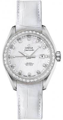 Omega Aqua Terra Ladies Automatic 34mm 231.18.34.20.55.001