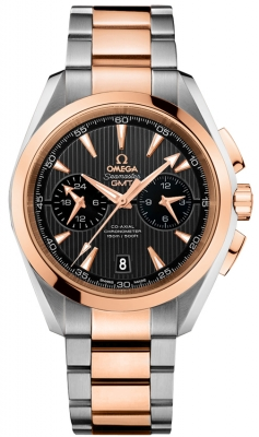 Omega Aqua Terra 150m Co-Axial GMT Chronograph 43mm 231.20.43.52.06.001