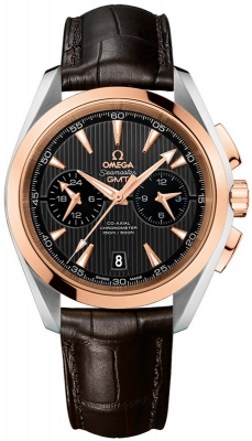 Omega Aqua Terra 150m Co-Axial GMT Chronograph 43mm 231.23.43.52.06.001