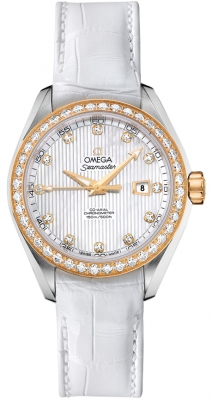 Omega Aqua Terra Ladies Automatic 34mm 231.28.34.20.55.001