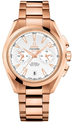 Omega Aqua Terra 150m Co-Axial GMT Chronograph 43mm 231.50.43.52.02.001