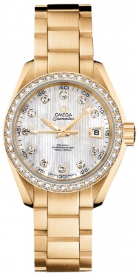 Omega Aqua Terra Ladies Automatic 30mm 231.55.30.20.55.002