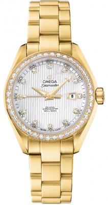 Omega Aqua Terra Ladies Automatic 34mm 231.55.34.20.55.001