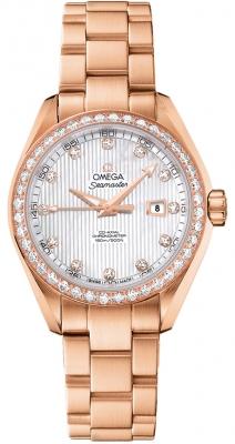 Omega Aqua Terra Ladies Automatic 34mm 231.55.34.20.55.002