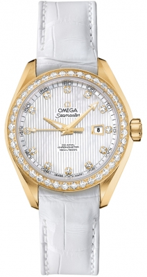 Omega Aqua Terra Ladies Automatic 34mm 231.58.34.20.55.001
