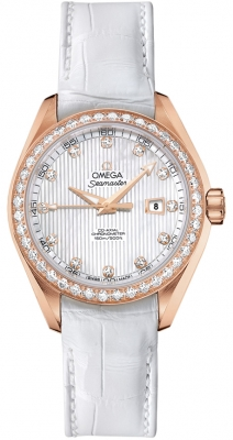 Omega Aqua Terra Ladies Automatic 34mm 231.58.34.20.55.002