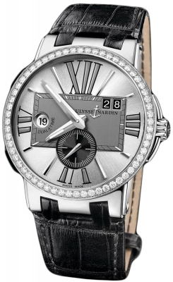 Ulysse Nardin Executive Dual Time 43mm 243-00b/421