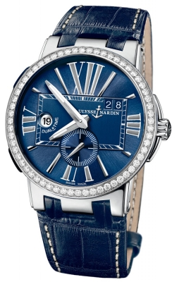 Ulysse Nardin Executive Dual Time 43mm 243-00b/43