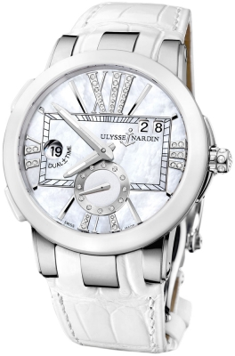 Ulysse Nardin Executive Dual Time Lady 243-10/391