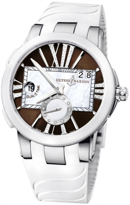 Ulysse Nardin Executive Dual Time Lady 243-10-3/30-05
