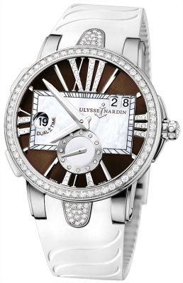 Ulysse Nardin Executive Dual Time Lady 243-10B-3C/30-05