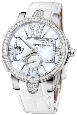 Ulysse Nardin Executive Dual Time Lady 243-10B/391