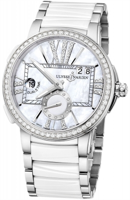 Ulysse Nardin Executive Dual Time Lady 243-10b-7/391