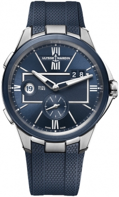 Ulysse Nardin Executive Dual Time 42mm 243-20-3/43