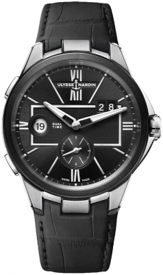 Ulysse Nardin Executive Dual Time 42mm 243-20/42