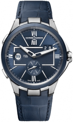 Ulysse Nardin Executive Dual Time 42mm 243-20/43