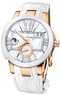 Ulysse Nardin Executive Dual Time Lady 246-10/391