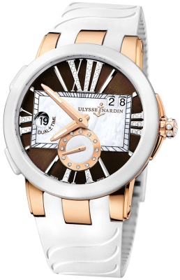 Ulysse Nardin Executive Dual Time Lady 246-10-3/30-05