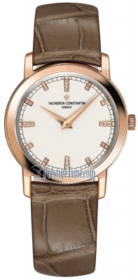 Vacheron Constantin Traditionnelle Quartz 30mm 25155/000r-9585