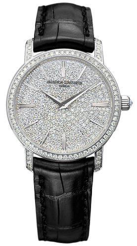 Vacheron Constantin 25559/000g-9280 Patrimony Traditionnelle Quartz 30mm Ladies Watches