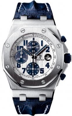 Navy audemars piguet royal oak offshore chronograph 42mm mens watch for Royal oak offshore navy