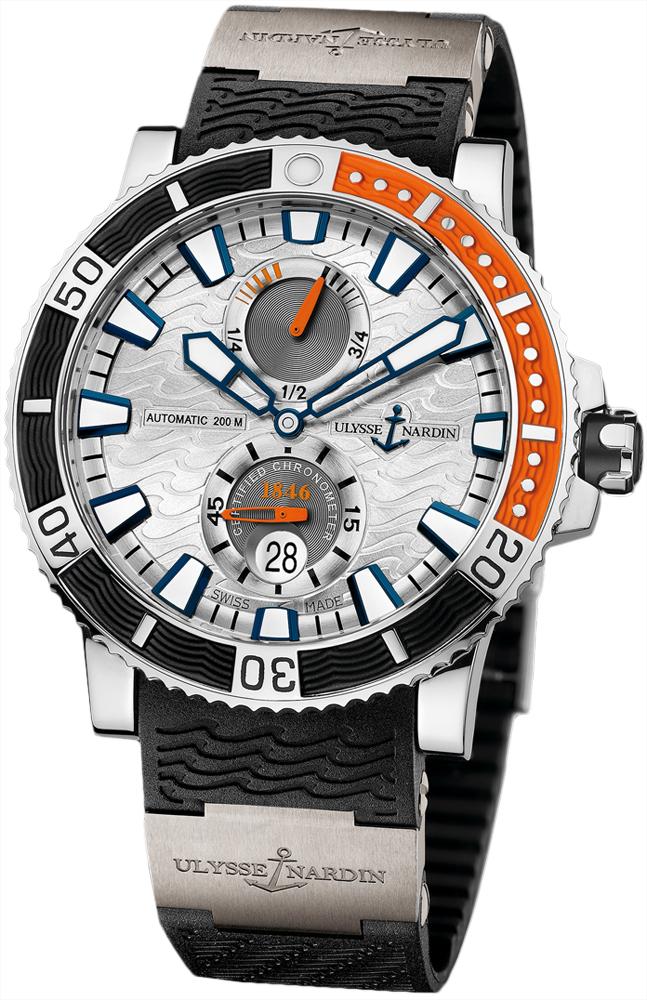 263 90 3 91 ulysse nardin maxi marine diver titanium mens watch. Black Bedroom Furniture Sets. Home Design Ideas