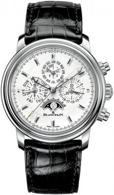 Blancpain Leman Flyback Chrono Perpetual Calendar 40mm 2685f-1127-53b