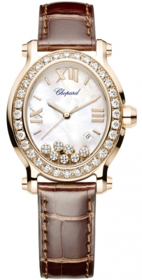 Chopard Happy Sport Oval Quartz 275350-5003